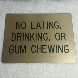 Salvaged Novelty Sign
